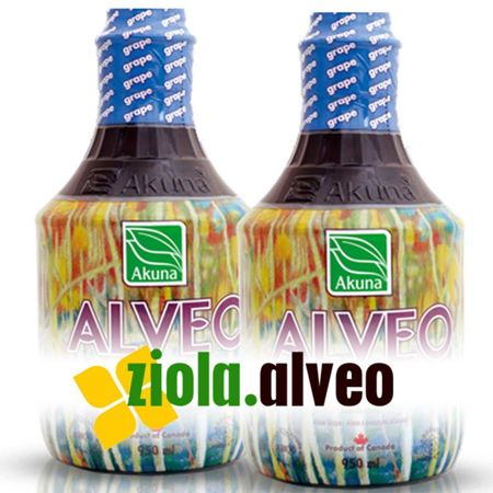 2 x Alveo winogronowe AKUNA 950 ml (GRAPE)