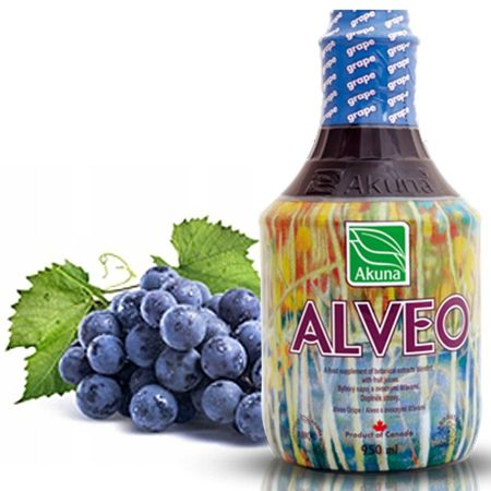 Alveo winogronowe AKUNA 950ml (GRAPE)